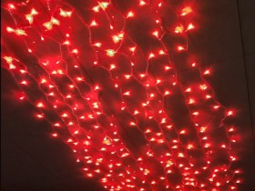 red led curtain lights