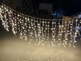 300 leds curtain lights