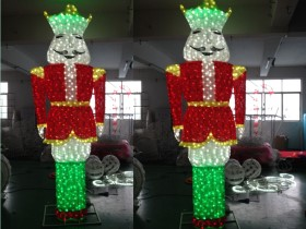 led nutcracker lights