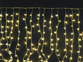 warm white led curtain light 3m