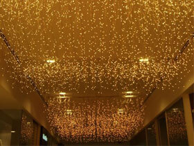 216 warm white led icicle lights