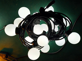 milk ball string lights