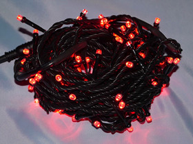 black cable red lights