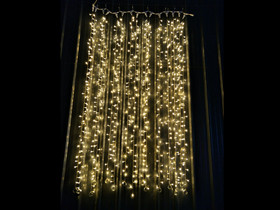 warm white led curtain lights