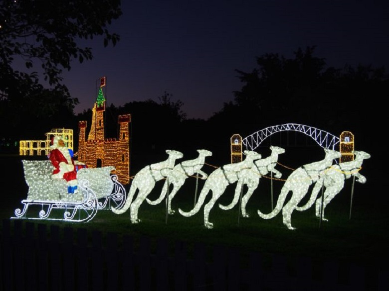 Christmas Lights Spectacular In Australia Rayer Lighting