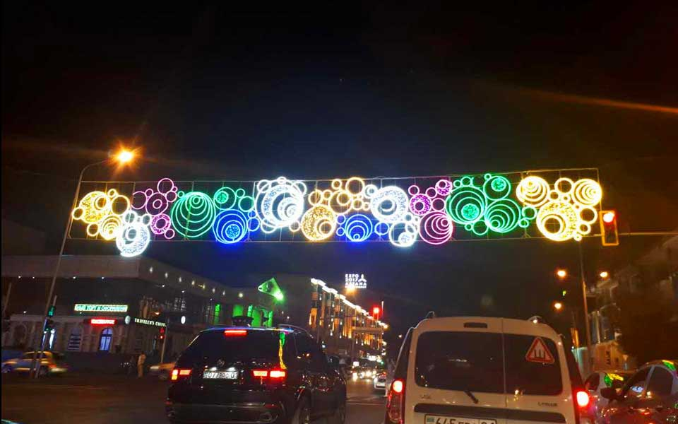 Street Led Holiday Lighting Decoration