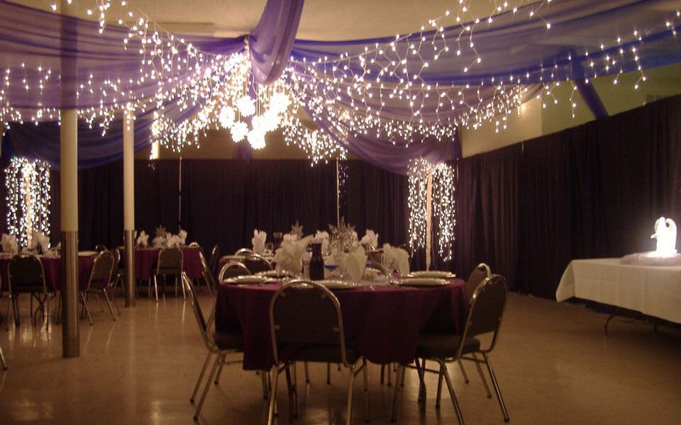 Indoor wedding lights